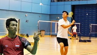How to Play Backhands like Taufik Hidayat