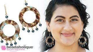 How To Make The Mermaid Cove Chandelier Earrings