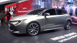 Genève 2018 : Nouvelle Toyota Auris hybride