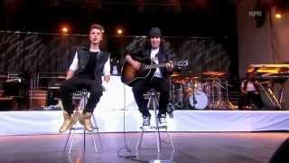 Justin Bieber - Never Let you Go Acoustic (Live In Oslo 25-5-2012)