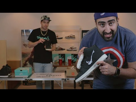 On fait un NikeSBDunkHighPong (BeerPong with Sneakers)