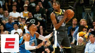 Time seems to heal wounds in Kevin Durant-Russell Westbrook relationship | ESPN
