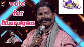 Vote for Murugan |  Airtel Super Singer |  2019 |  seniors |Vijay TV ||