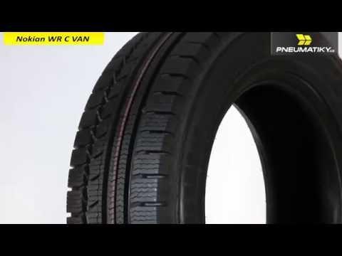 Youtube Nokian WR C VAN 205/65 R16 C 107/105 T Zimní