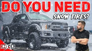 The BEST Snow Tires for TRUCKS!
