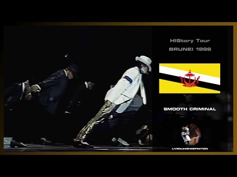 Michael Jackson - Smooth Criminal - Live Brunei 1996 (HWT) - HD