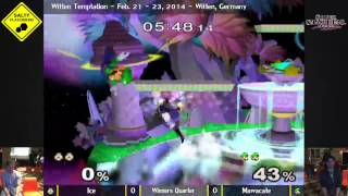 preview picture of video 'Witten Temptation - Ice vs Mawacate - Winners Quarter Final SSBM'