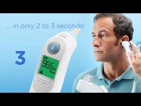 Welch Allyn Braun ThermoScan PRO 6000 Ear Thermometer