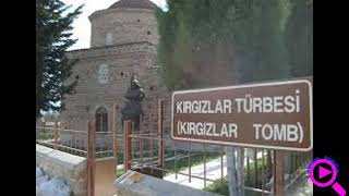 Памятник кыргызским воинам в Турции в городе Изник.