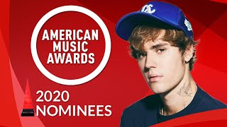 American Music Awards 2020   Nominees