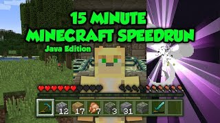 Can You Really Beat Minecraft In 15 Minutes Without Glitches?