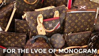 MY ENTIRE LOUIS VUITTON MONOGRAM COLLECTION  | Minks4All