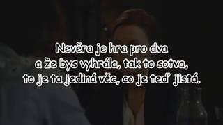 Xindl X - Věčně nevěrná ft. Sabina Křováková   TEXT   Pavel Kozler