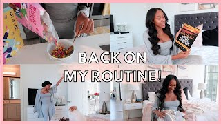 LIFE WITH JAYLA | GETTING BACK INTO MY ROUTINE!