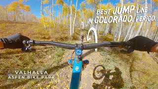Is Valhalla the best flow trail in CO?