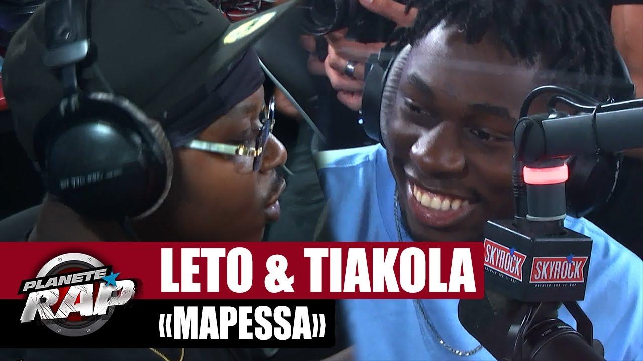 "[EXCLU] Leto feat. Tiakola ""Mapessa"" #PlanèteRap"