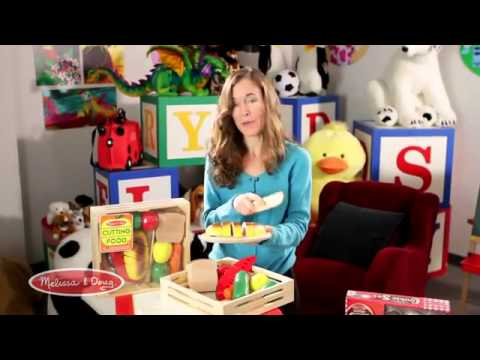 Food Play - Cutting Foods by Melissa and Doug