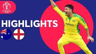Finch & Starc Star at Lord's | Australia vs England - Match Highlights | ICC Cricket World Cup 2019