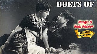 Duets Of Nargis & Raaj Kapoor Songs (VOL-1) - Superhit Hindi Purane Gaano Ka Collection Awara Movie