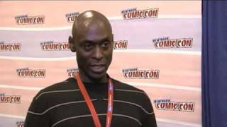 Lance Reddick Interview - How Much Does Broyles Know ?