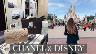 SHOPPING AT CHANEL & DISNEY WORLD VLOG!