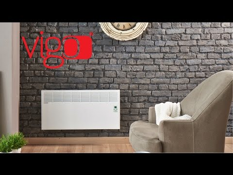 Priručnik Za Upotrebu Električni Panelni Konvektor / Vigo Heater Video / Konvektör Sırpça Kullanım