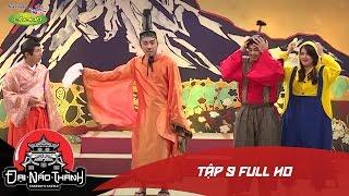 """Đại náo thành Takeshi   Tập 9   Trấn Thành nhầm Ngọc Thảo là """"nhỏ bán chuối"""" trong tạo hình Minion"""