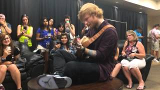 Ed Sheeran - Tenerife Sea (Acoustic) - Glendale, Arizona 8/31/14