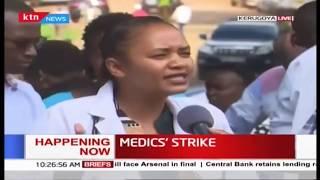 Medics strike: Kerugoya Medics begin strike