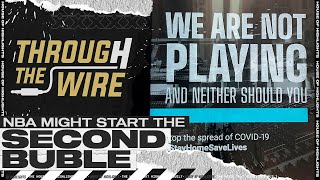 """NBA Might Start A Second """"Bubble"""" 