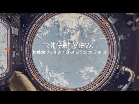 GOOGLE STREET VIEW 帶你去上太空站!