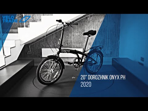 "Велосипед 20"" Dorozhnik ONYX планет. складной 2020: video"
