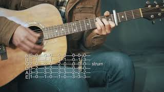 How To Play The One That Makes You Happy - Joe Firstman - Guitar Tabs