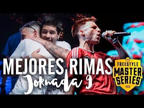 Las MEJORES RIMAS de la NOVENA JORNADA de la FMS ARGENTINA 2018   Jornada 9 FINAL - FMS Buenos Aires
