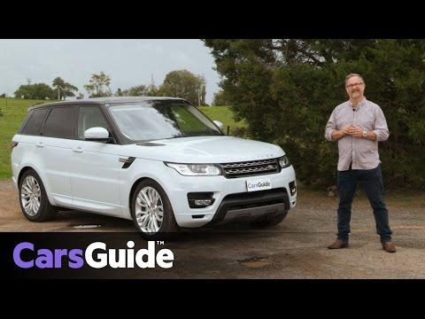 Land Rover Range Rover Sport SE TDV6 2017 review | road test video