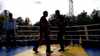 Братья Кличко, Открытая тренировка Виталия Кличко (Часть четвёртая)