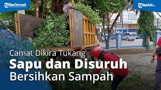 POPULER: Camat Disuruh Bersihkan Sampah di Depan Ruko, Dikira Tukang Sapu