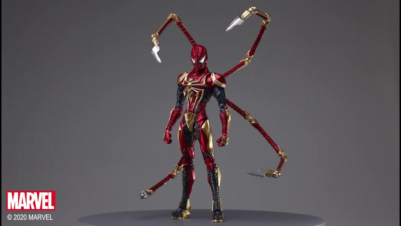 Video MARVEL UNIVERSE VARIANT BRING ARTS™ SPIDER-MAN DESIGNED BY TETSUYA NOMURA [ACTION FIGURE]
