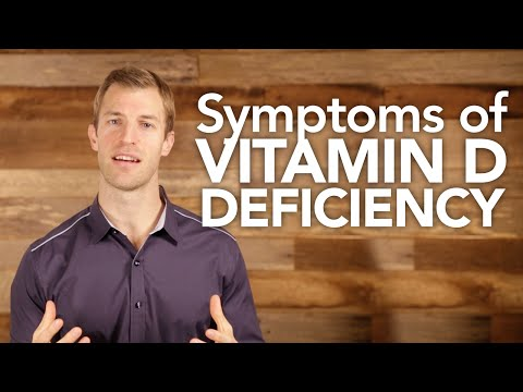 Video What are Vitamin D Deficiency Symptoms?