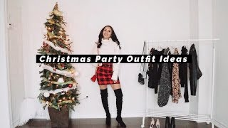 HOLIDAY PARTY OUTFIT IDEAS + HAUL | 2019