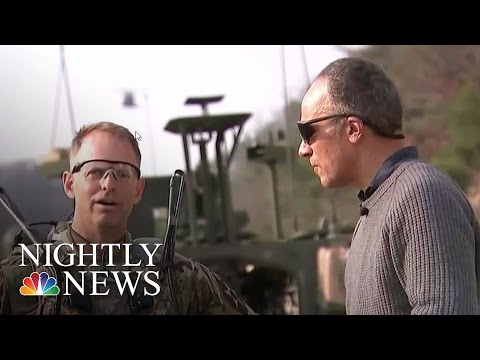 Lester Holt Takes An Exclusive Look At U.S. Military Training In South Korea | NBC Nightly News