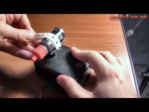 Пример использования смесителя для модельной краски