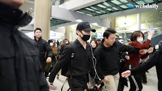 [WD영상] 방탄소년단(BTS) 12월 2일 인천국제공항 입국 현장