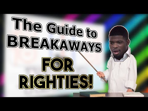 NEW BREAKAWAY MOVES! Breakaways after the Tuner for Righties (How to Score in NHL 19)