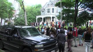 DRAMATIC VIDEO: A Crowd Set Fire To A House In Milwaukee, Wisconsin