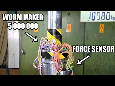The Return of Worm Maker 5 000 000! The Most Satisfying Press Tool Ever!