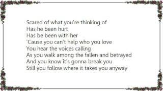 Garth Brooks - You Can't Help Who You Love Lyrics