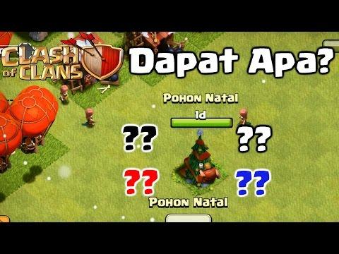 Video UPDATE DESEMBER KEREN - Dapat Apa Jika Menebang Pohon Natal? - COC INDONESIA