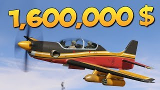 GTA ONLINE - БРЕЙН КУПИЛ САМОЛЕТ ROGUE ЗА 1600000$ #331