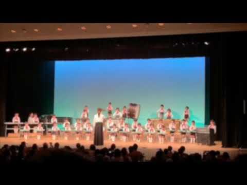 姫路若葉保育園 令和1年度 音楽会 4歳児 合奏「世界がひとつになるまで」